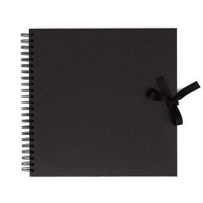 Album do zdobienia 30,5 x 30,5cm czarny 40 kartek