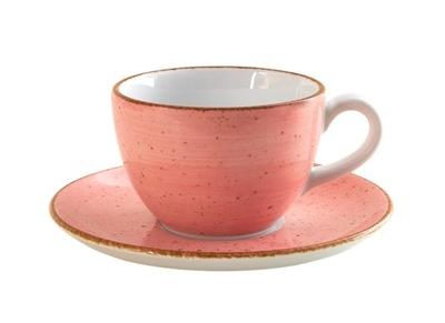 Ręcznie malowana filiżanka Lubiana 180ml różowa