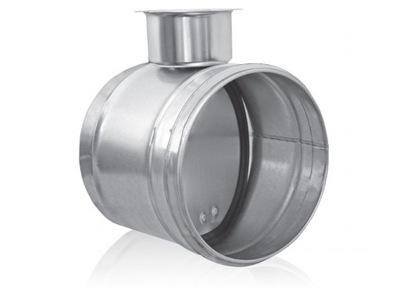 Na otváranie klapky je hermeticky, ventil 80mm SPIRO