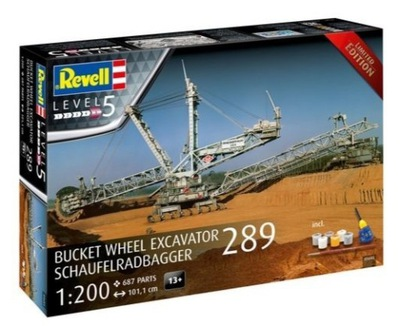 Model do sklejania Revell Schaufelradbagger 289 Lt