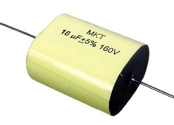Kondensator Jantzen MKT 18 uF 160VDC 10%