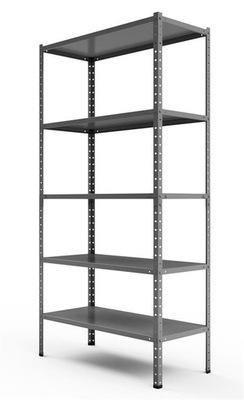 Стеллаж металлический позиция Steel 180x90x40 5P 450kg