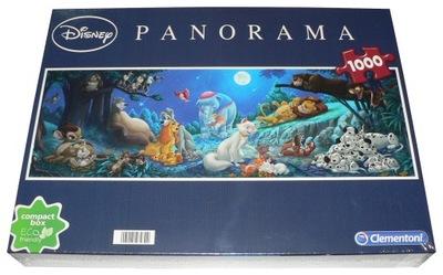 Puzzle Clementoni 1000 PANORAMA DISNEY BOHATEROWIE
