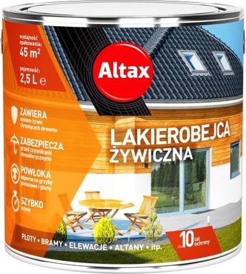 Altax Lakierobejca Żywiczna 2,5L HEBAN