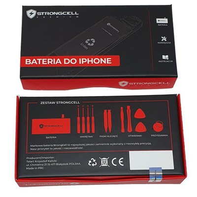 Bateria STRONGCELL do iPhone 7 2340 mAh 07.2021r.