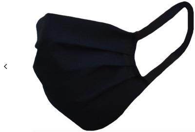 маска хлопковая маска на лицо черная