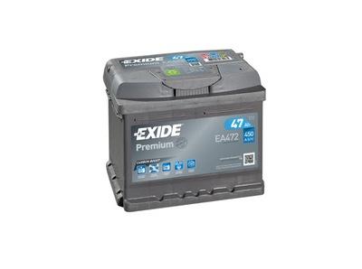 EXIDE PREMIUM EA472 47Ah 450A