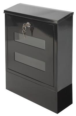 F56 коробка ЯЩИК НА письма ГАЗЕТЫ черная сталь