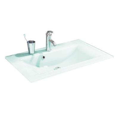 Sklenené kúpeľňové umývadlo 80 mäty Fackelmann
