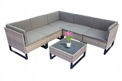 Мебель садовое комплект Угол Столик
