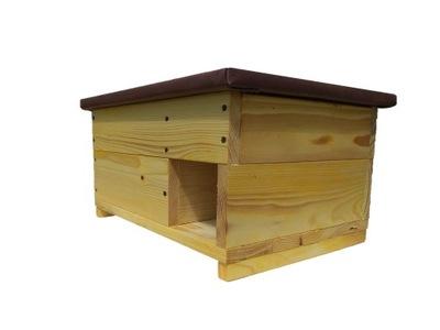 Drewniany domek dla JEŻA, budka, legowisko
