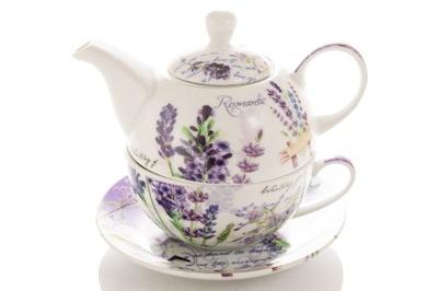 TEA FOR ONE ЛАВАНДА Чайник С ЧАШЕЧКОЙ комплект