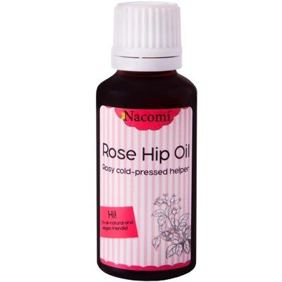 Nacomi Rose Hip Oil redukcja blizn i przebarwień