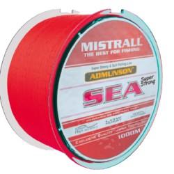 Żyłka Admunson SEA red 1000m 0,50mm Mistrall