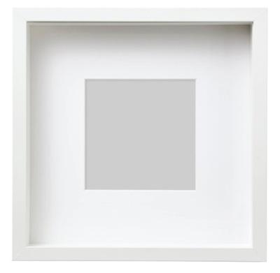 Ikea sannahed Ramka, biały 25x25 cm
