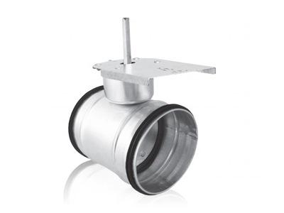 Ventil utesnené tesniacimi krúžkami, 100 mm (valca).