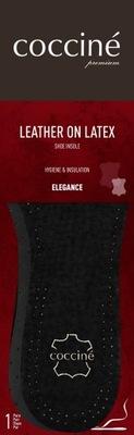 Wkładka Skórzana na piance lateksowej 40 czarna