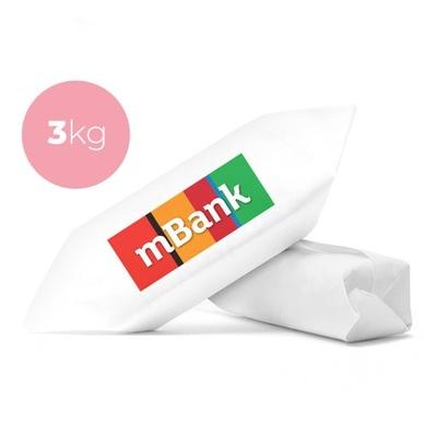 Krówki firmowe z logo 3 kg cukierki z nadrukiem fv