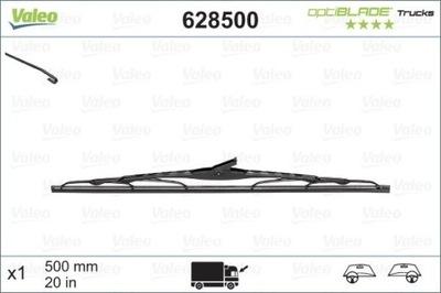 Pióro wycier.500mm /TRUCKS VALEO 628500