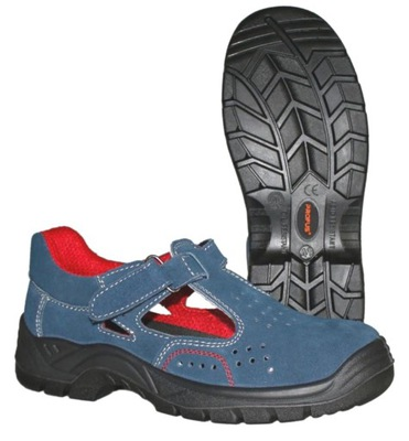 Sandały Półbuty Robocze Lekkie Przewiewne S1 41