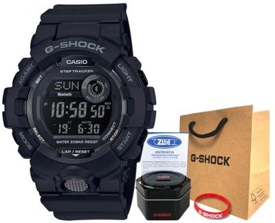 Zegarek Casio G-SHOCK GBD-800-1BER bluetooth smart