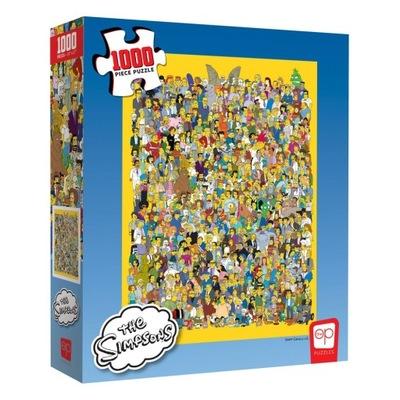Puzzle The Simpsons Obsada Simsonowie 1000 szt