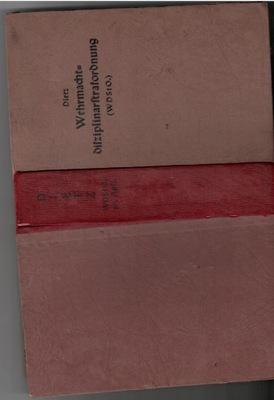 3 RZESZA , REGULAMIN DYSCYPLINARNY WERMACHTU1943