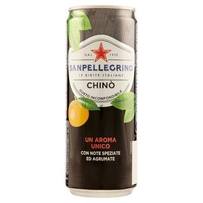 S .Пеллегрино CHINO chinotto 330ml итальянский напиток
