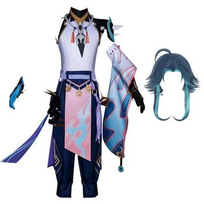 Genshin Impact XIAO ANIME Cosplay Halloween Cos