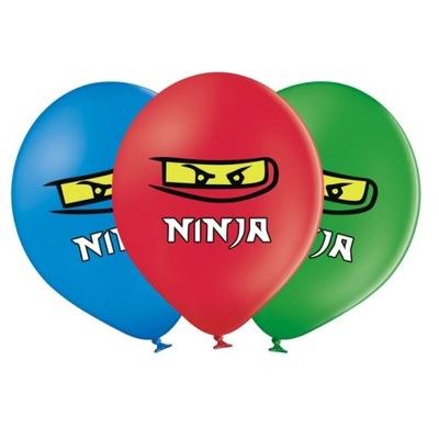 Воздушные шары на день Рождения Instagram Ниндзя-6 штук -37см