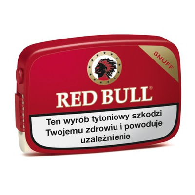 TABAKA RED BULL - TYLKO DLA FIRM