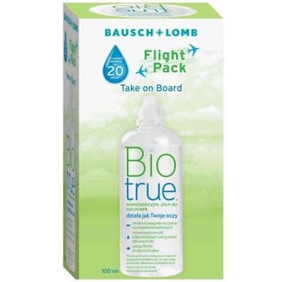 Płyn do soczewek Biotrue 100 ml / Bio True 100ml