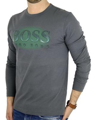 HUGO BOSS longsleeve męski S T-shirt popiel LHB02