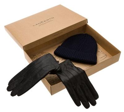 Zestaw Prezentowy Czapka+Rękawiczki Lancerto M