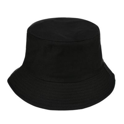 Kapelusz bucket hat wędkarski modny jednolity