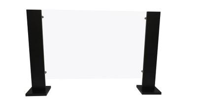 Przegroda/osłona antywirusowa z pleksi 173x77 cm