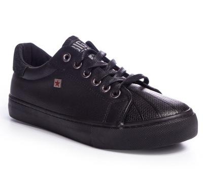 BUT18 adidas superstar czarne trampki damskie 38