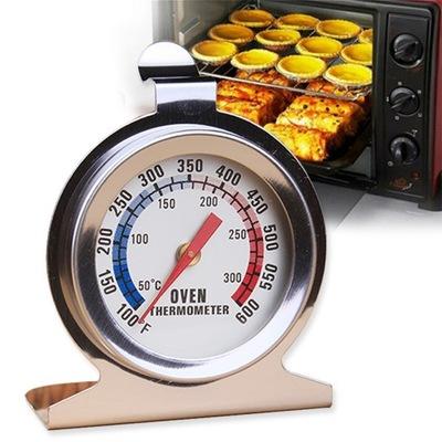Termometr piekarnikowy ze stali nierdzewnej