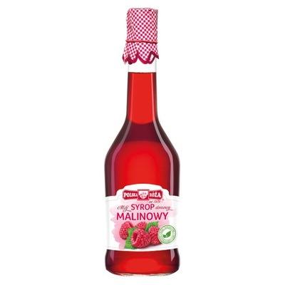 Syrop malinowy 500 ml Polska Róża