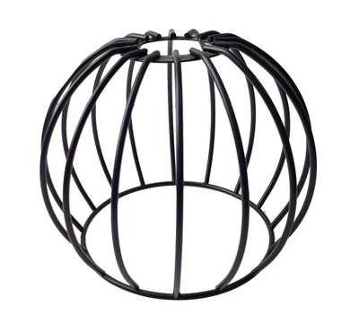 Klosz druciany METAL do lamp na E27 LOFT KULA