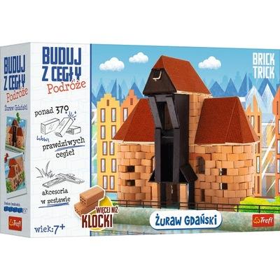 Brick Trick Buduj z cegły Podróże Żuraw Trefl