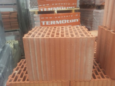 Кирпич Керамический TERMOton 25P+W Porotherm Owczary