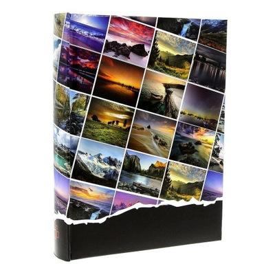 KLASYCZNY ALBUM - 300 zdjęć 10X15 szyty z opisem