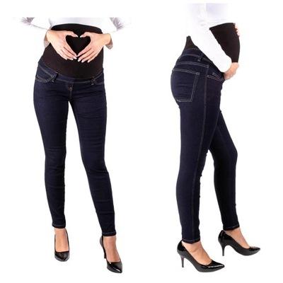 SPODNIE CIĄŻOWE jeansy SPODNIE ciążowe S