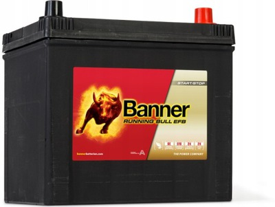 BANNER RUNNING BULL EFB 565 15 65Ah 550A JAPAN P+