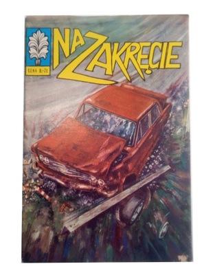 KAPITAN ŻBIK - NA ZAKRĘCIE 1973 r. wyd. I