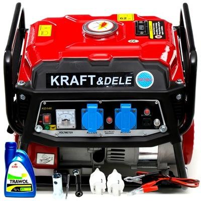 Приводимый в действие генераторная instagram ТОКА KD146 2200/1500W +масло