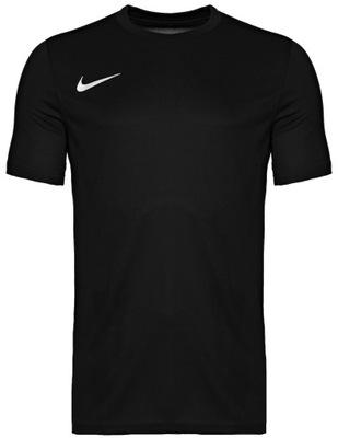 NIKE Koszulka Męska T-SHIRT Treningowa CZARNA L
