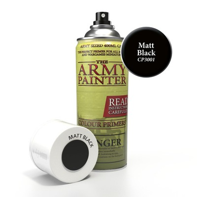 Army Painter Spray - Matt Black