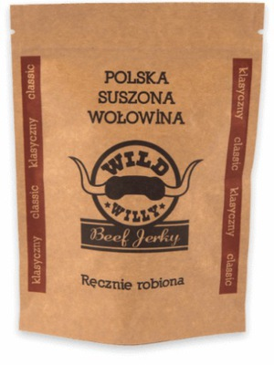польский  высушивают говядина Wild Willy классический 50g